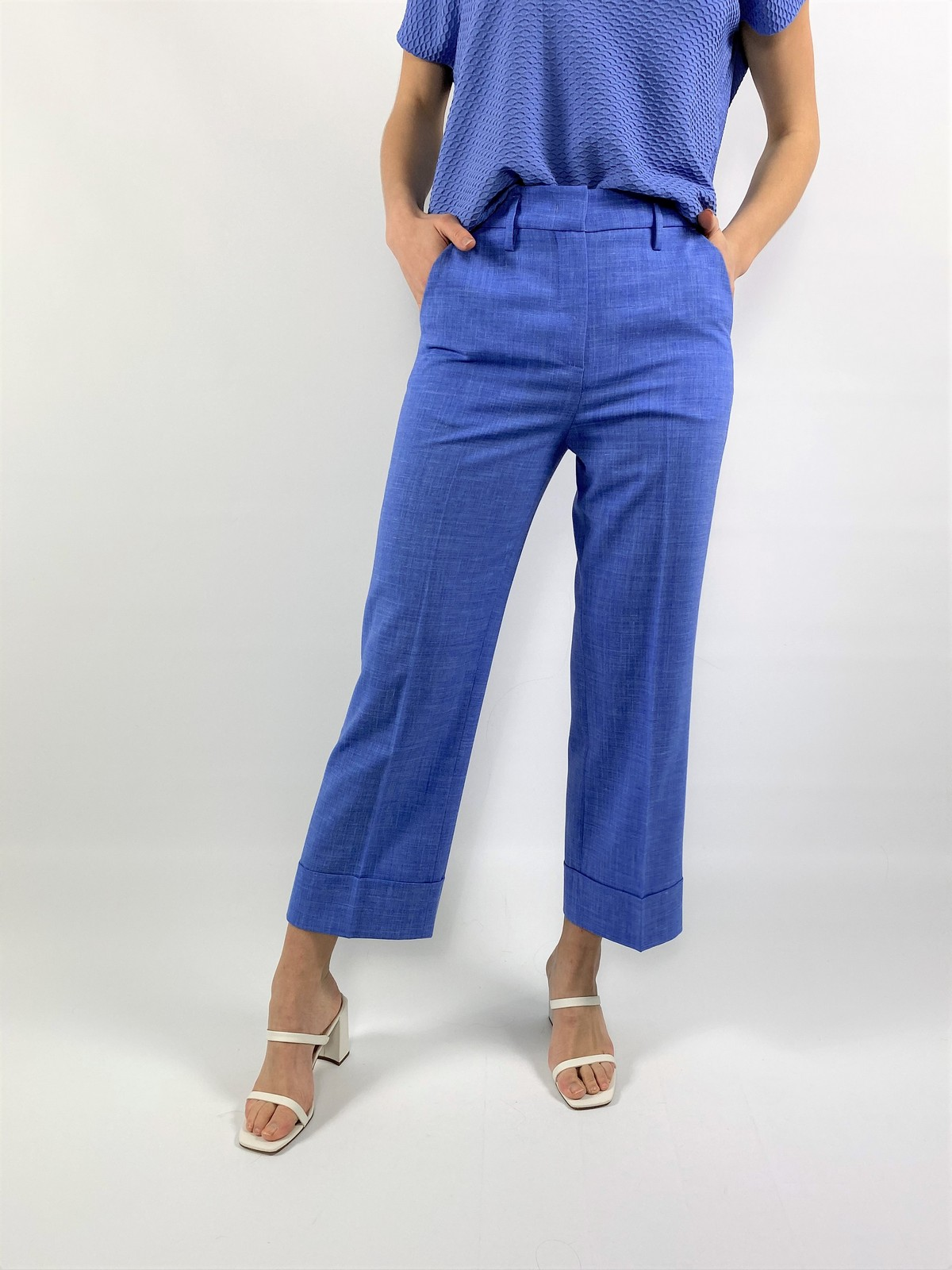 Broek strectch omslag - A2502 - Anneclaire