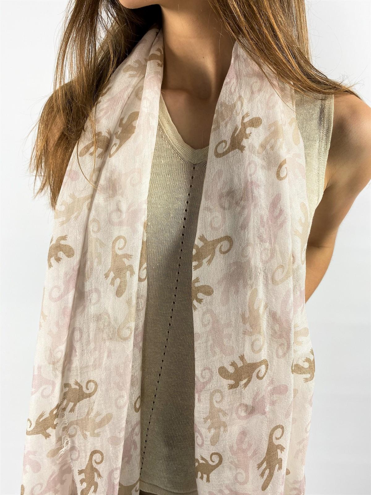 Sjaal wol modal cashmere - DECKO - Hemisphere