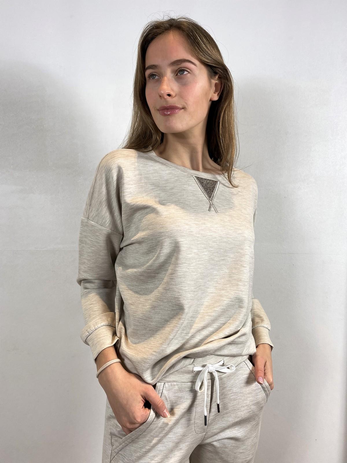 Sweater lurex triangle oversized - 26547 - Margittes - uitverkocht