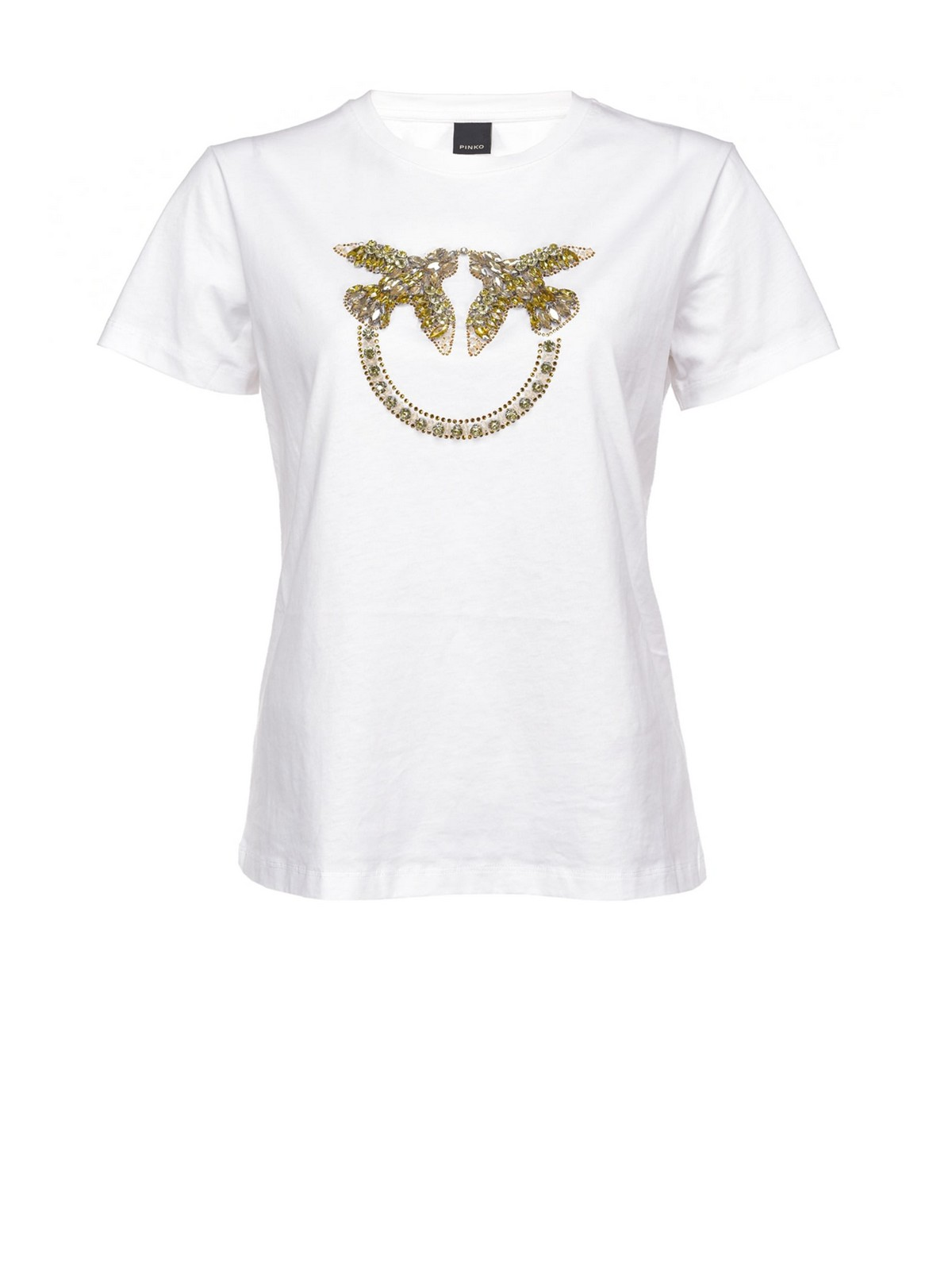 T-shirt jersey love birds - Quentin - Pinko