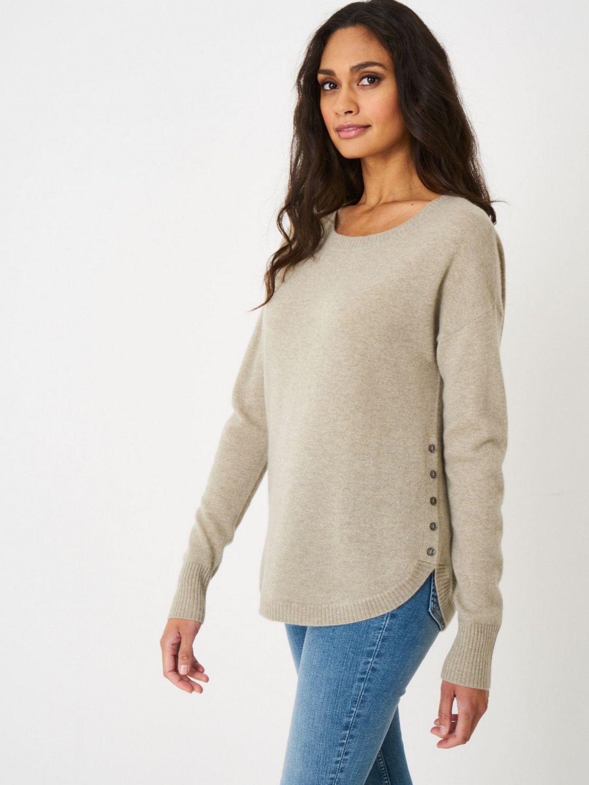Sweater knoopjes zijkant - 100566 - Repeat