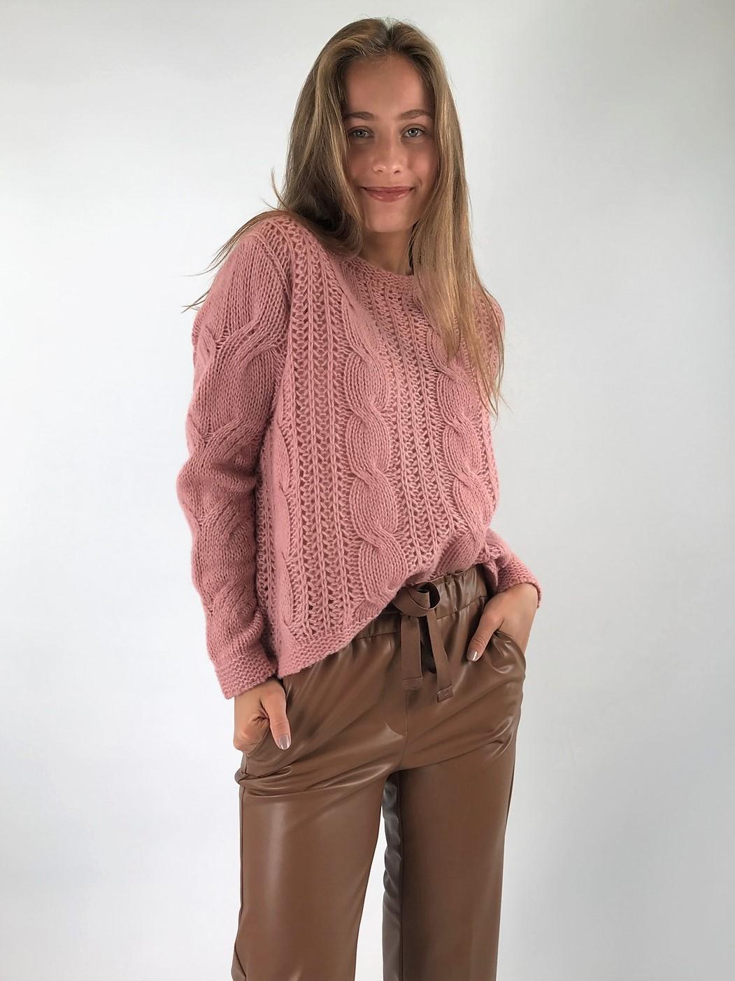 Hemisphere - Pull cashmere zijde - uitverkocht