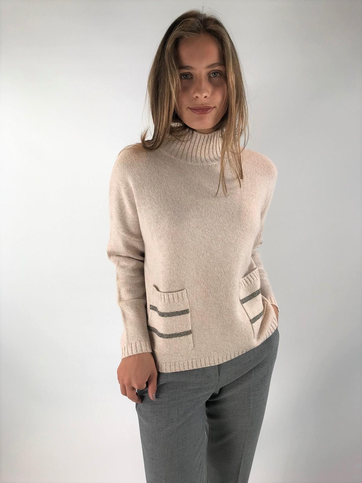 Hemisphere - Modische pull wol-cashmere - uitverkocht