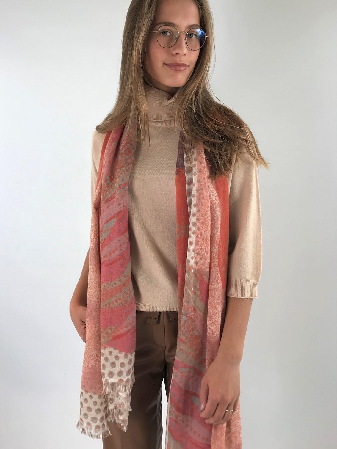 Hemisphere - Sjaal 100% cashmere