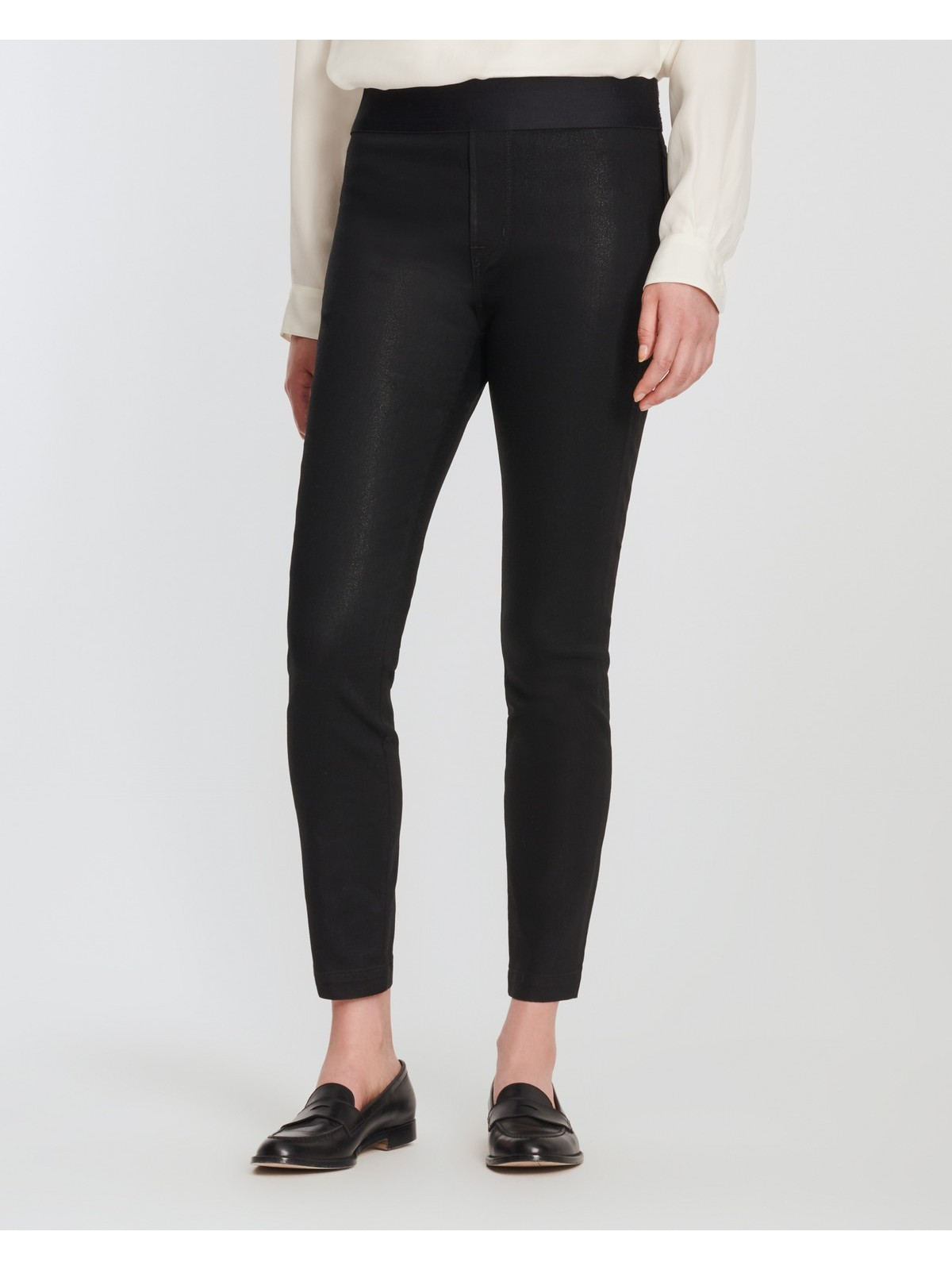 J-brand - DELLAH - Legging coated high rise