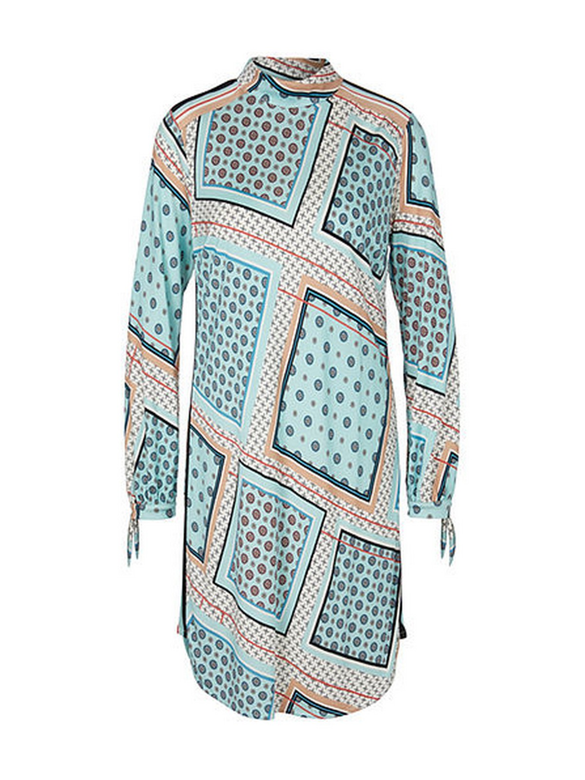 Marc Cain - Kleed aqua print - PC 21.50 J37