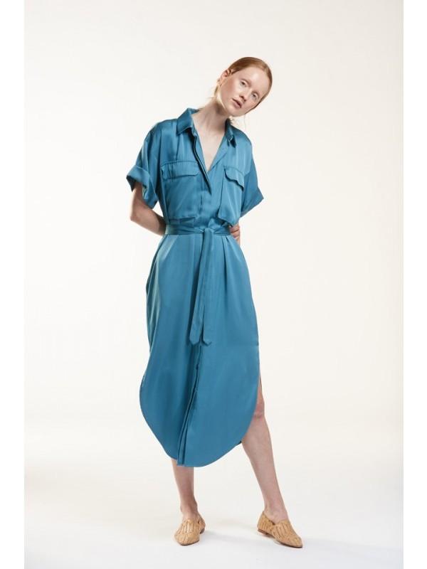 Julia June Hemdkleed ocean blue